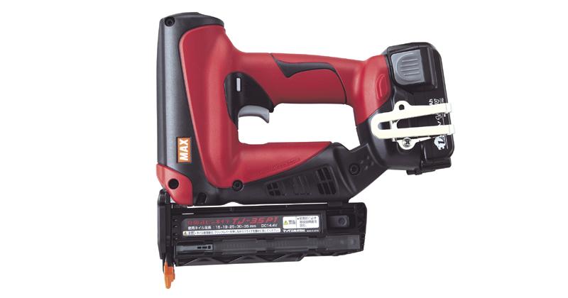充電式ピンネイラ tj 35p1 bc 建築 建設工具 製品情報 マックス